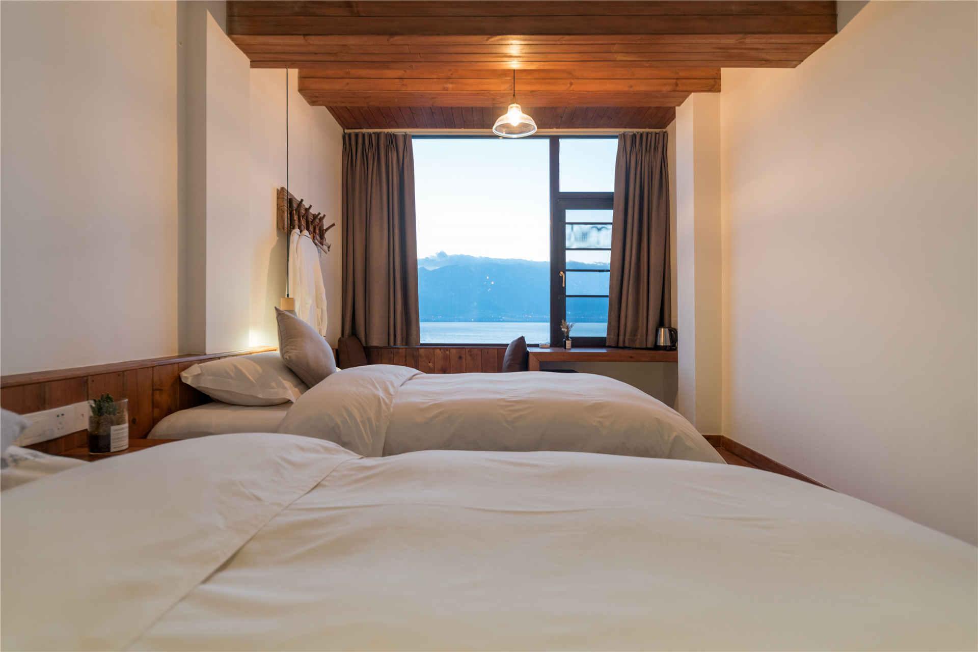 Songguoli 302 Sea View Tatami Twin Beds