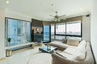 [サトーン]アパートメント(125m2)| 2ベッドルーム/2バスルーム Amazing 2Brs Apartment by the River near Asiatique