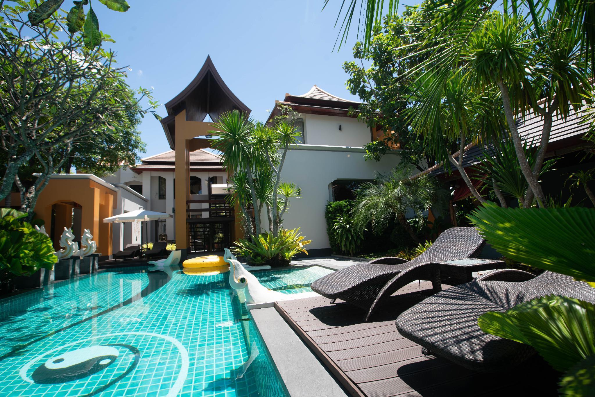 Thai Style Luxury Swimming Pool Holiday Villa
