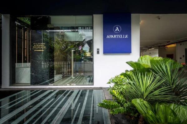 Apartelle Jatujak hotel Superior Twin BR&&08 Bangkok