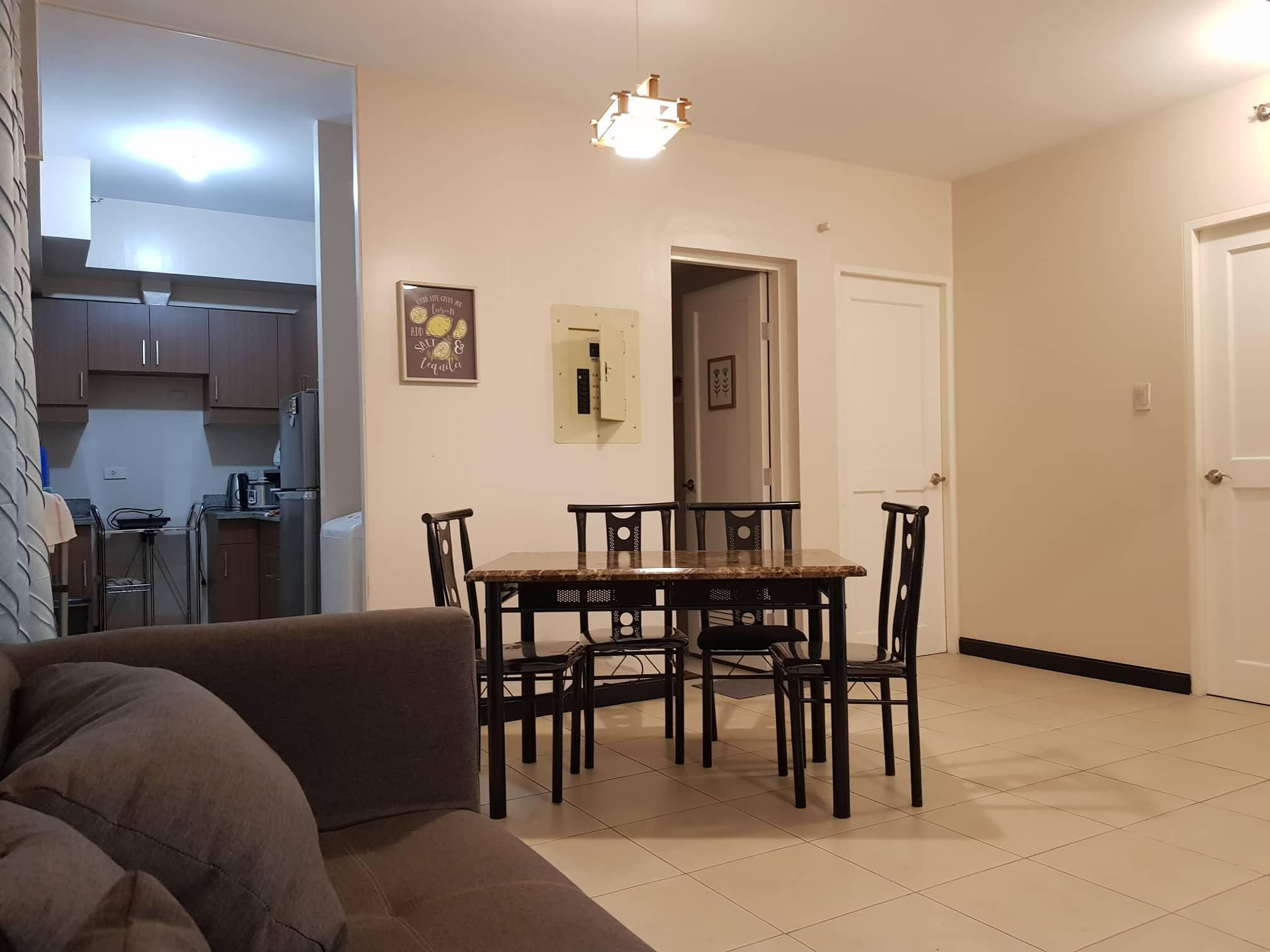 2 bedroom fully furnished unit with 2 balcony
