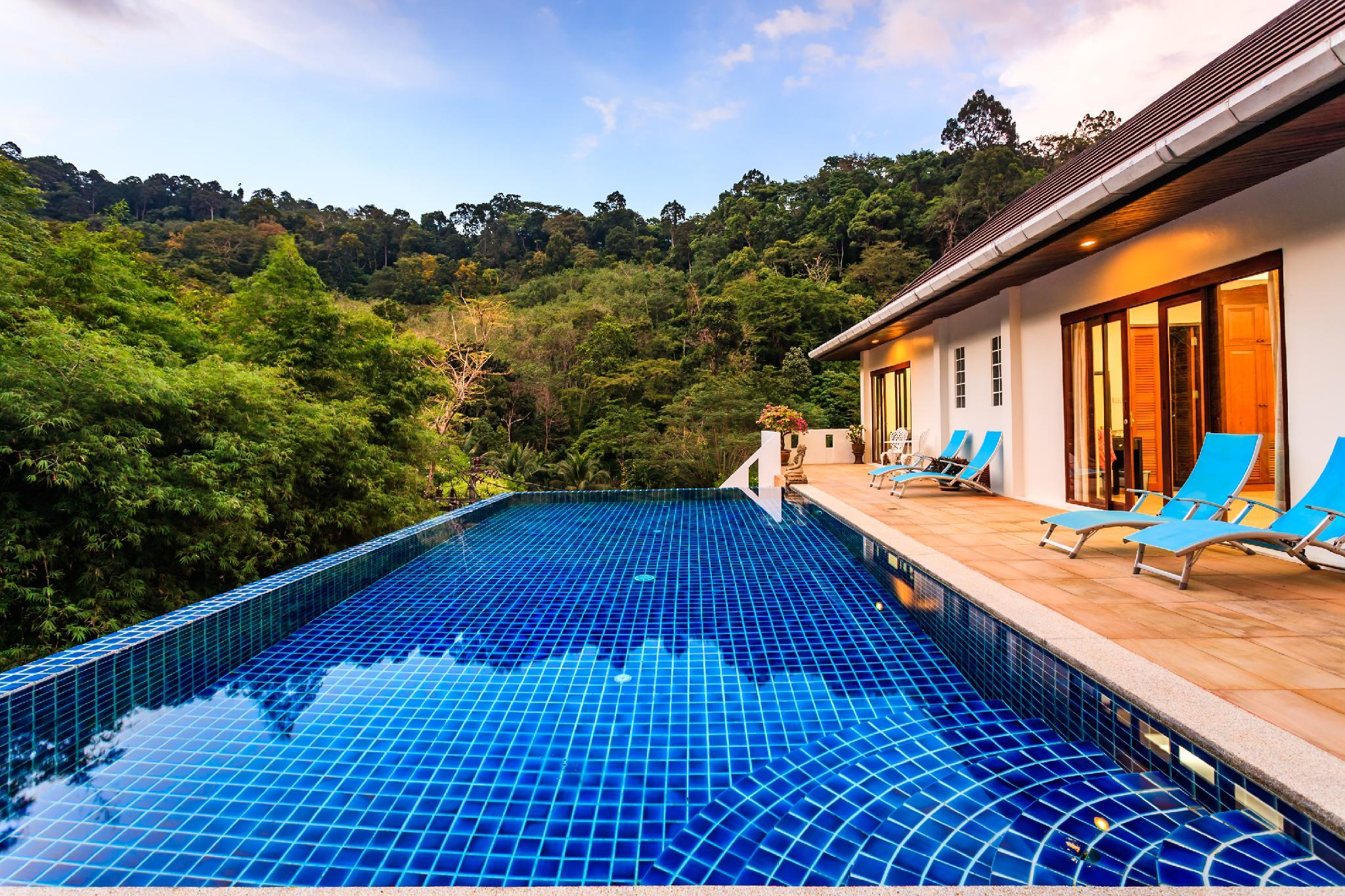 Private Pool Jungle Villa In Kathu  FREE MOTORBIKE