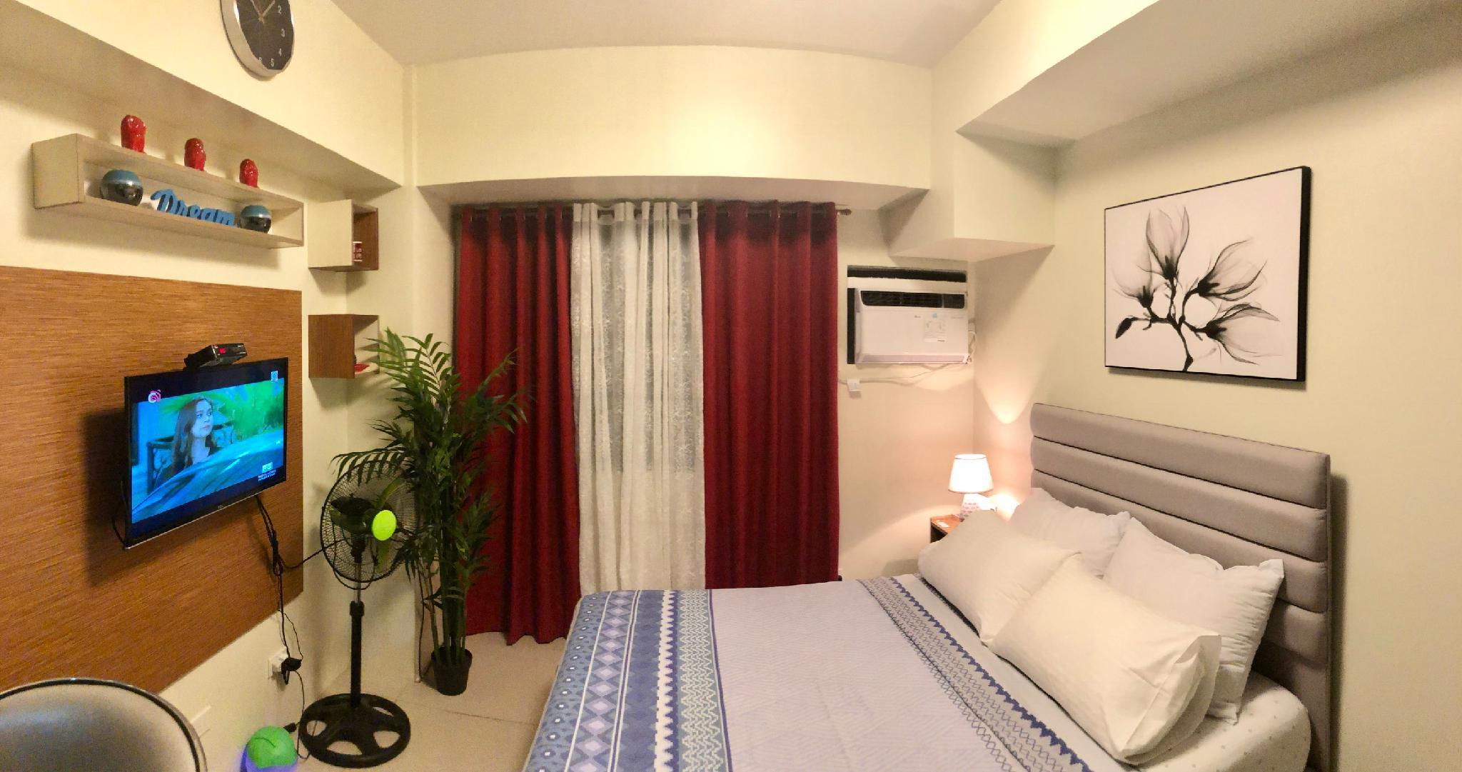 Cozy Condo Unit In Cebu City With Queen Size Bed