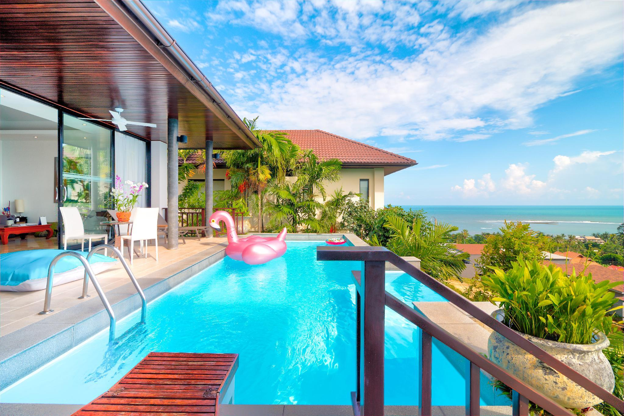 Spectacular Panorama Sea View Pool Villa