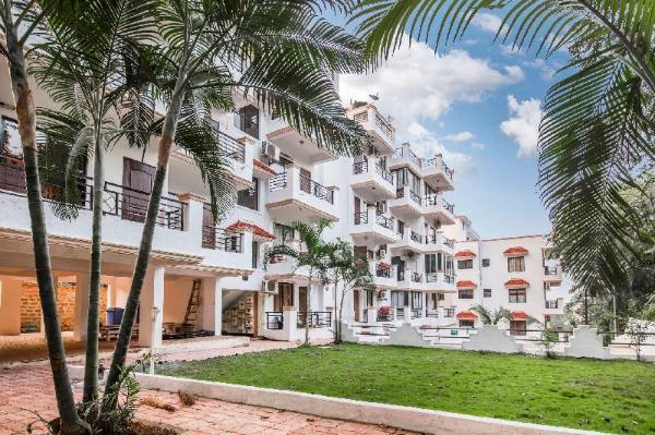 Elegant apartment for 2 near Vagator Beach/66928 Goa