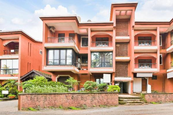 Vibrant 1 BHK for four, close to Baga Beach/70004 Goa