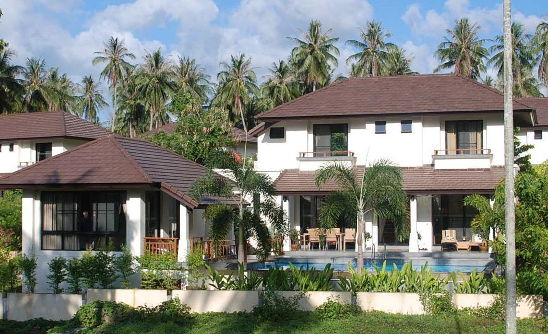 Maenam Golf & Pool Villa close to Santiburi Golf วิลลา 3 ห้องนอน 4 ห้องน้ำส่วนตัว ขนาด 190 ตร.ม. – แม่น้ำ