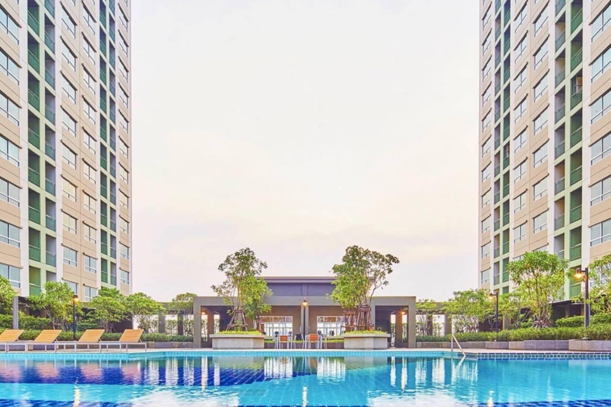 Lumpini Ville Nakhon In Riverview 1 Bed Room BKK