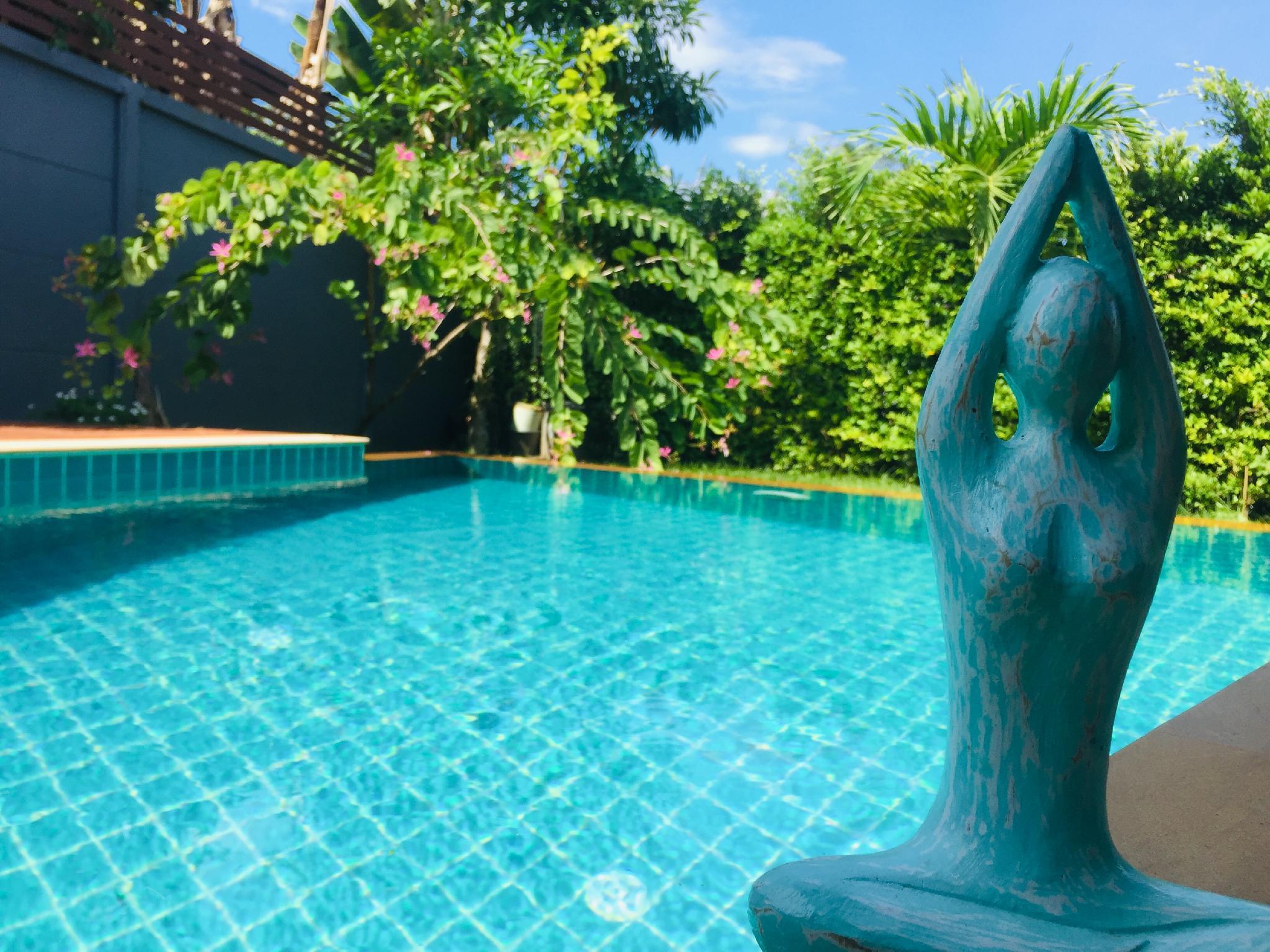 Pure Home  Pool & Garden Phuket วิลลา 2 ห้องนอน 1 ห้องน้ำส่วนตัว ขนาด 236 ตร.ม. – ป่าคลอก