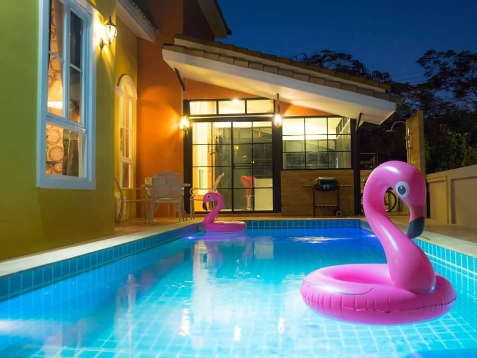 Florence pool villa Khaoyai วิลลา 3 ห้องนอน 3 ห้องน้ำส่วนตัว ขนาด 255 ตร.ม. – อุทยานแห่งชาติเขาใหญ่