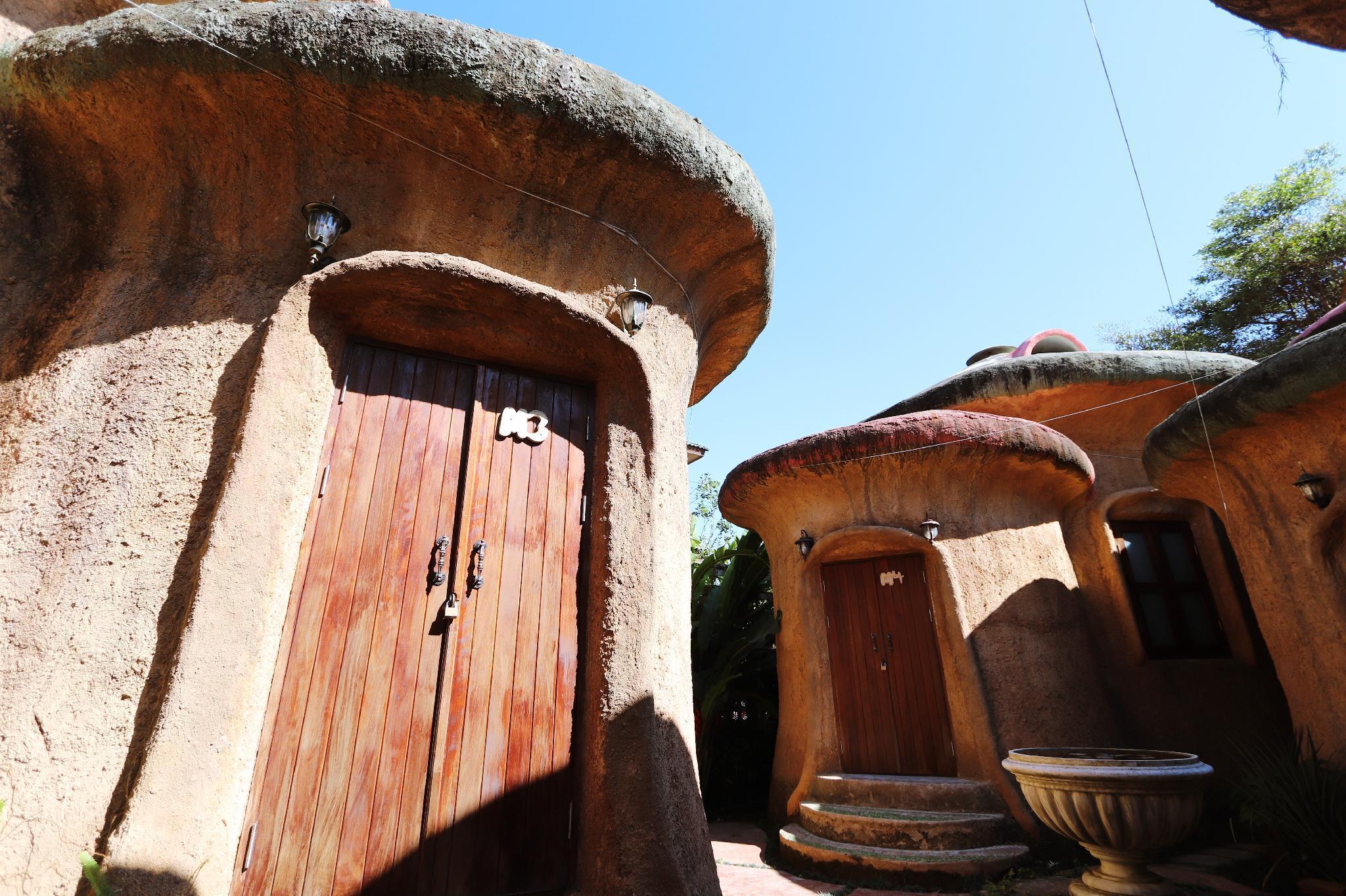 Leafy Greens Earthy Mushroom House M3 บังกะโล 2 ห้องนอน 1 ห้องน้ำส่วนตัว ขนาด 35 ตร.ม. – ห้วยแก้ว