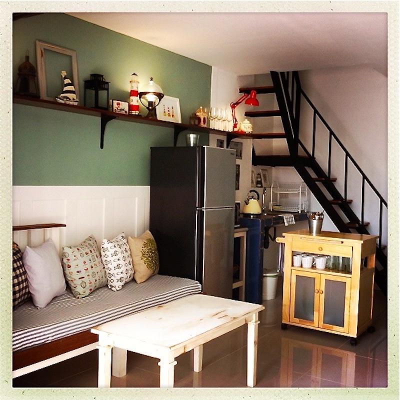 House 48 with washing machine and kitchen บ้านเดี่ยว 3 ห้องนอน 2 ห้องน้ำส่วนตัว ขนาด 88 ตร.ม. – กลางเมืองสเม็ด