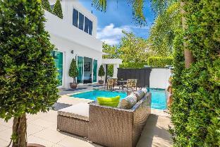 Villa Palm Oasis 4BR swimming pool and Jacuzzi วิลลา 4 ห้องนอน 3 ห้องน้ำส่วนตัว ขนาด 230 ตร.ม. – หาดจอมเทียน