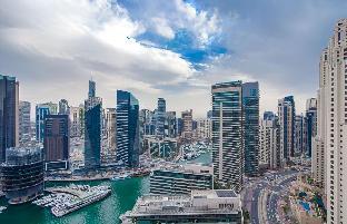 2 Bed (King) & 2 Balconies: Marina & Ocean Views