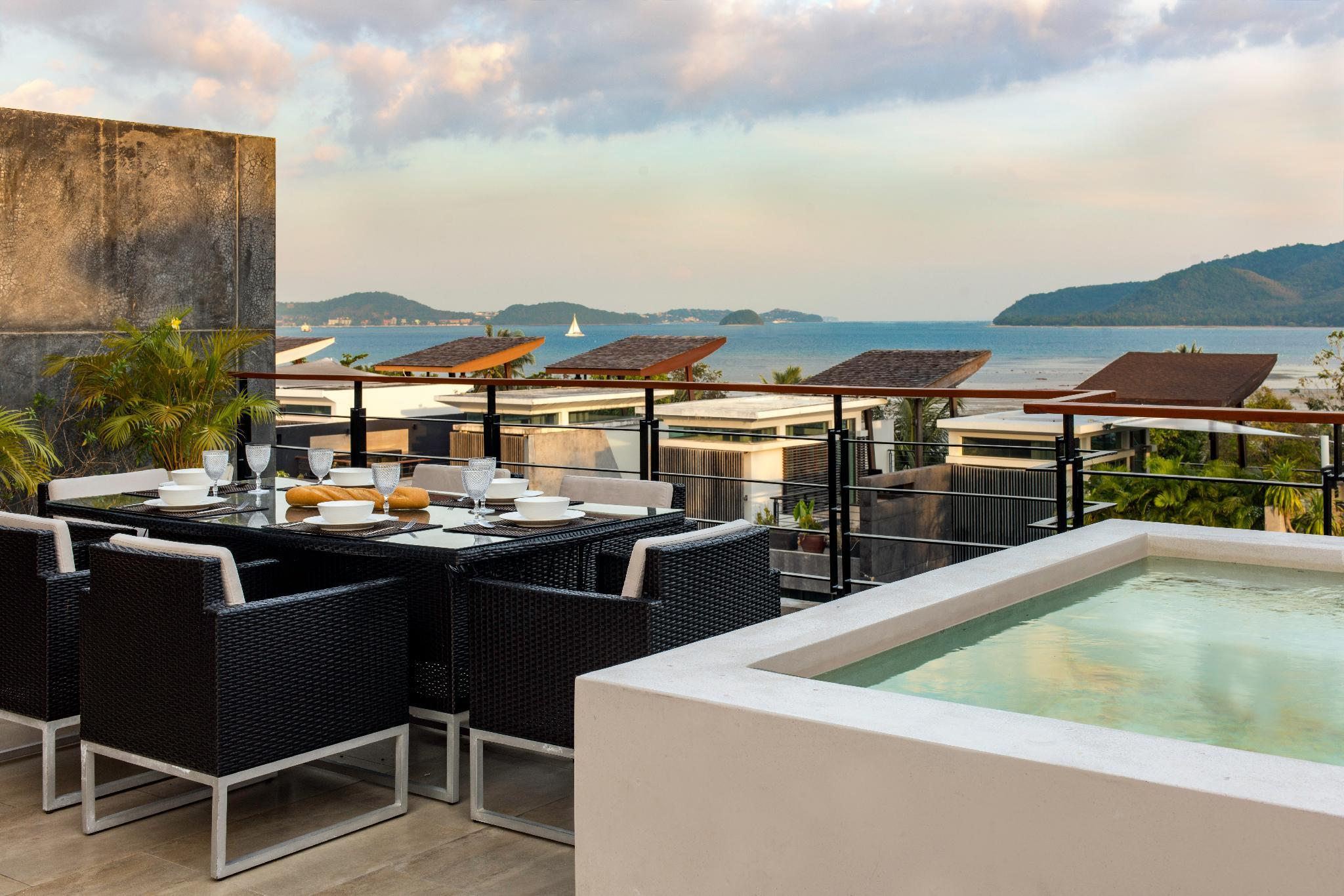 Luxurious SeaView 4br Private Pool Villa By Intira
