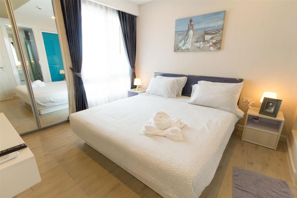 2 Bed Room Pattaya Seven Seas Condo (A82) อพาร์ตเมนต์ 2 ห้องนอน 2 ห้องน้ำส่วนตัว ขนาด 72 ตร.ม. – หาดจอมเทียน