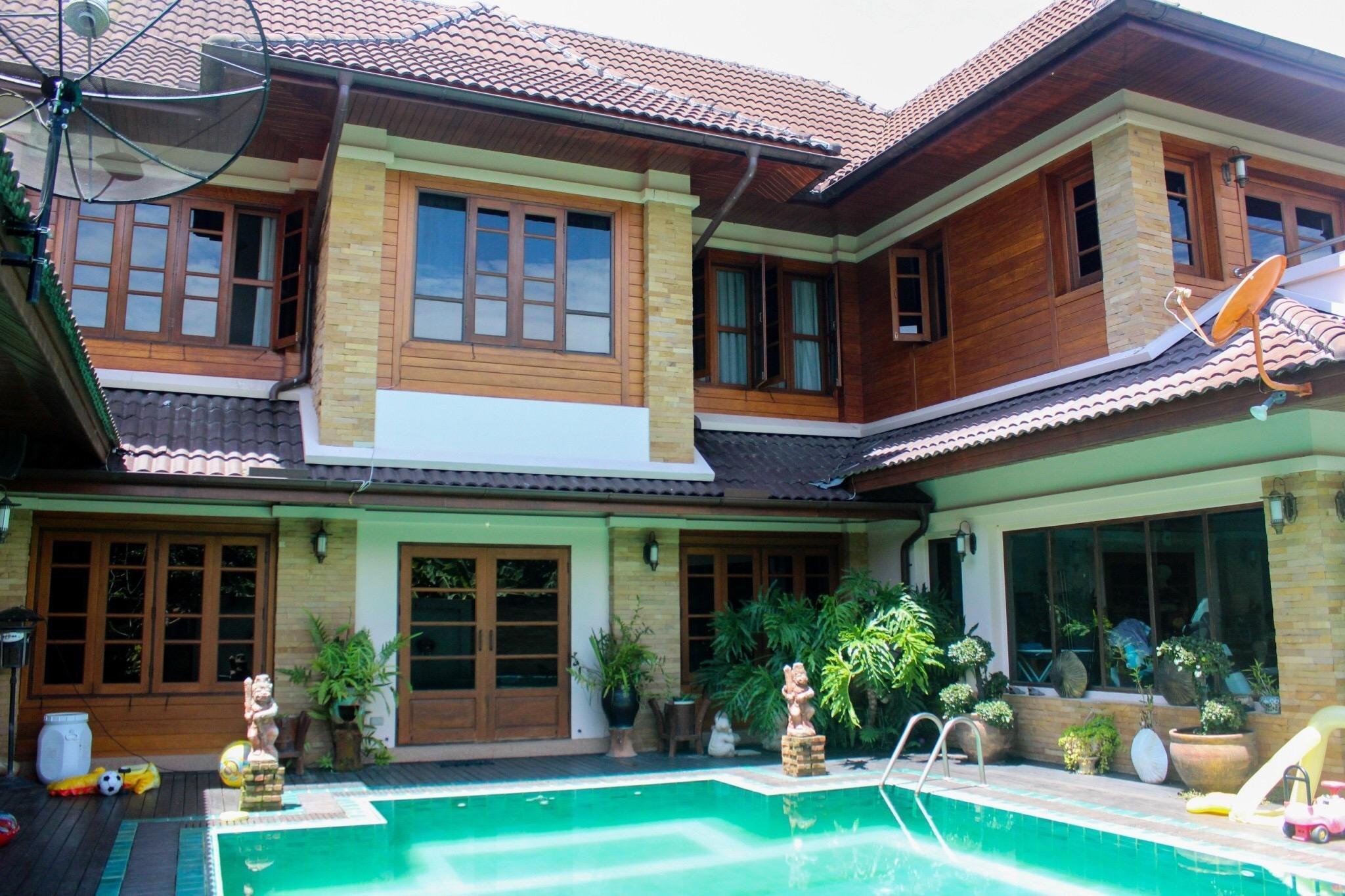Bosang Country Villa -Umbrella village-Hot springs บ้านเดี่ยว 4 ห้องนอน 6 ห้องน้ำส่วนตัว ขนาด 650 ตร.ม. – สันกำแพง