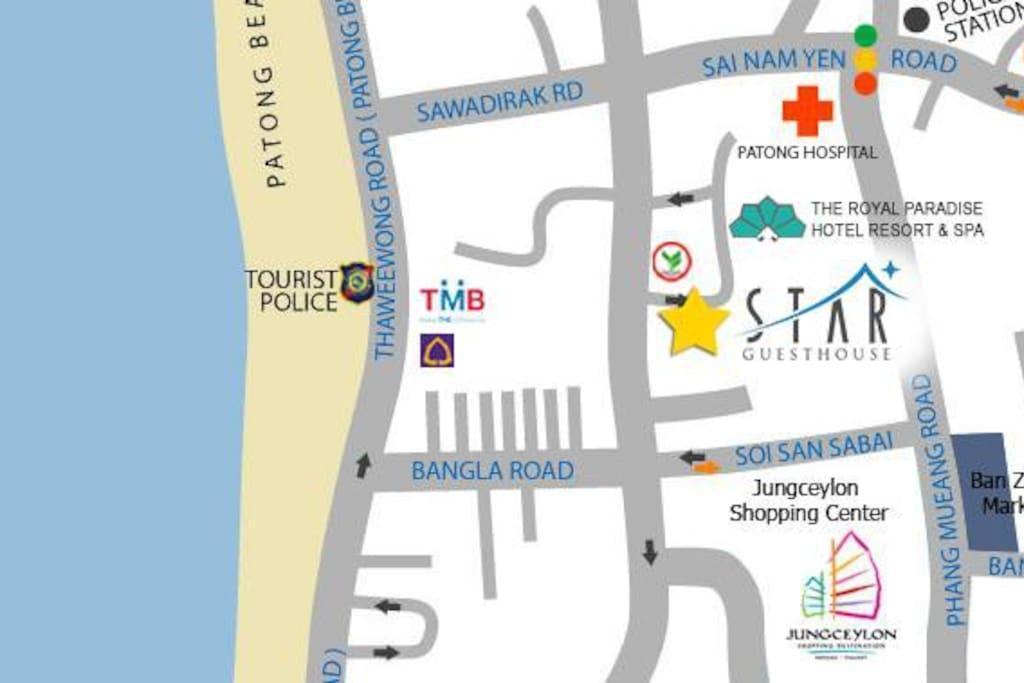 Luxury room in the heart of Patong อพาร์ตเมนต์ 1 ห้องนอน 1 ห้องน้ำส่วนตัว ขนาด 20 ตร.ม. – ป่าตอง