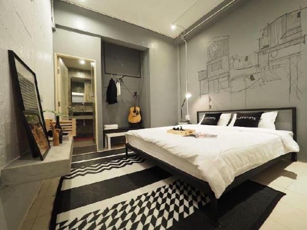 Design double room ensuite JJmarket /BTS /Aree Bangkok