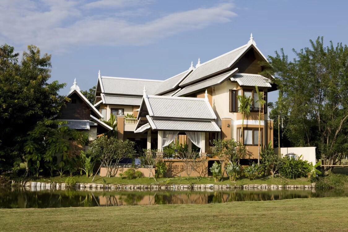Lanna Villa in Chiang Mia Deluxe Pool วิลลา 5 ห้องนอน 6 ห้องน้ำส่วนตัว ขนาด 800 ตร.ม. – เลอจือ