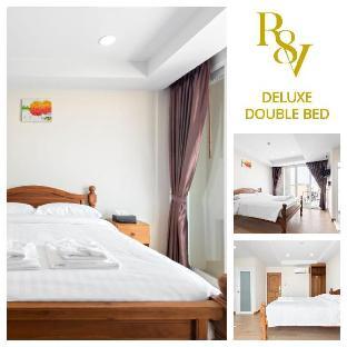 Deluxe Double Bed (DDB)-Royale 8 Ville อพาร์ตเมนต์ 1 ห้องนอน 2 ห้องน้ำส่วนตัว ขนาด 18 ตร.ม. – ข้าวสาร