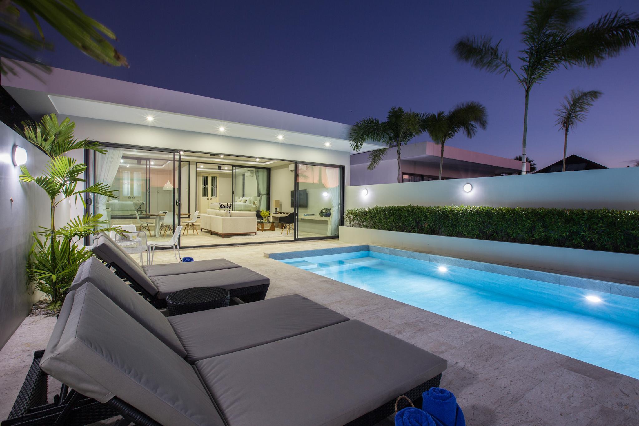 Villa Saam At Skye Beach 2BDRM Private Pool