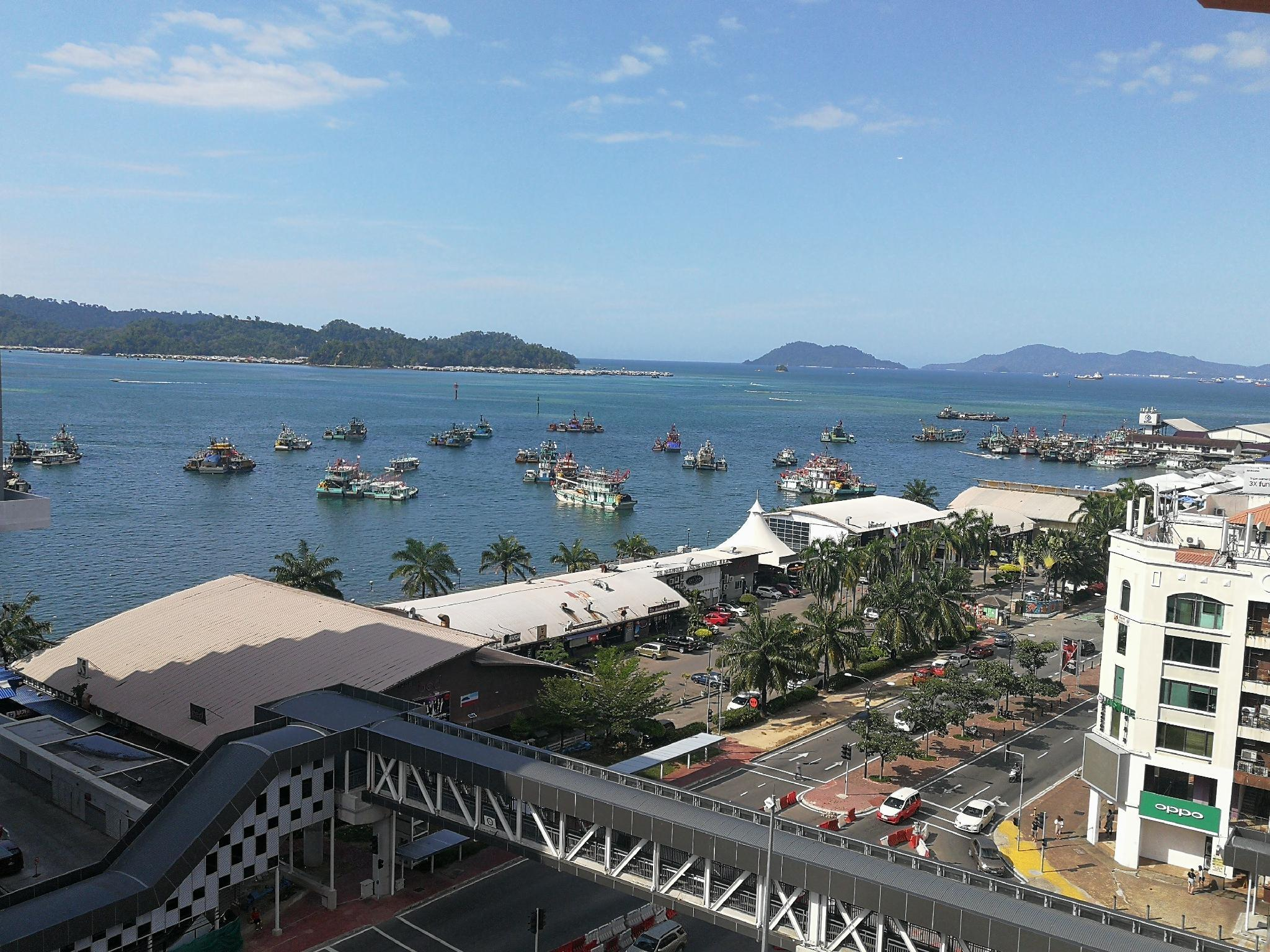 KK City Homestayz With Sea View @ Marina Court