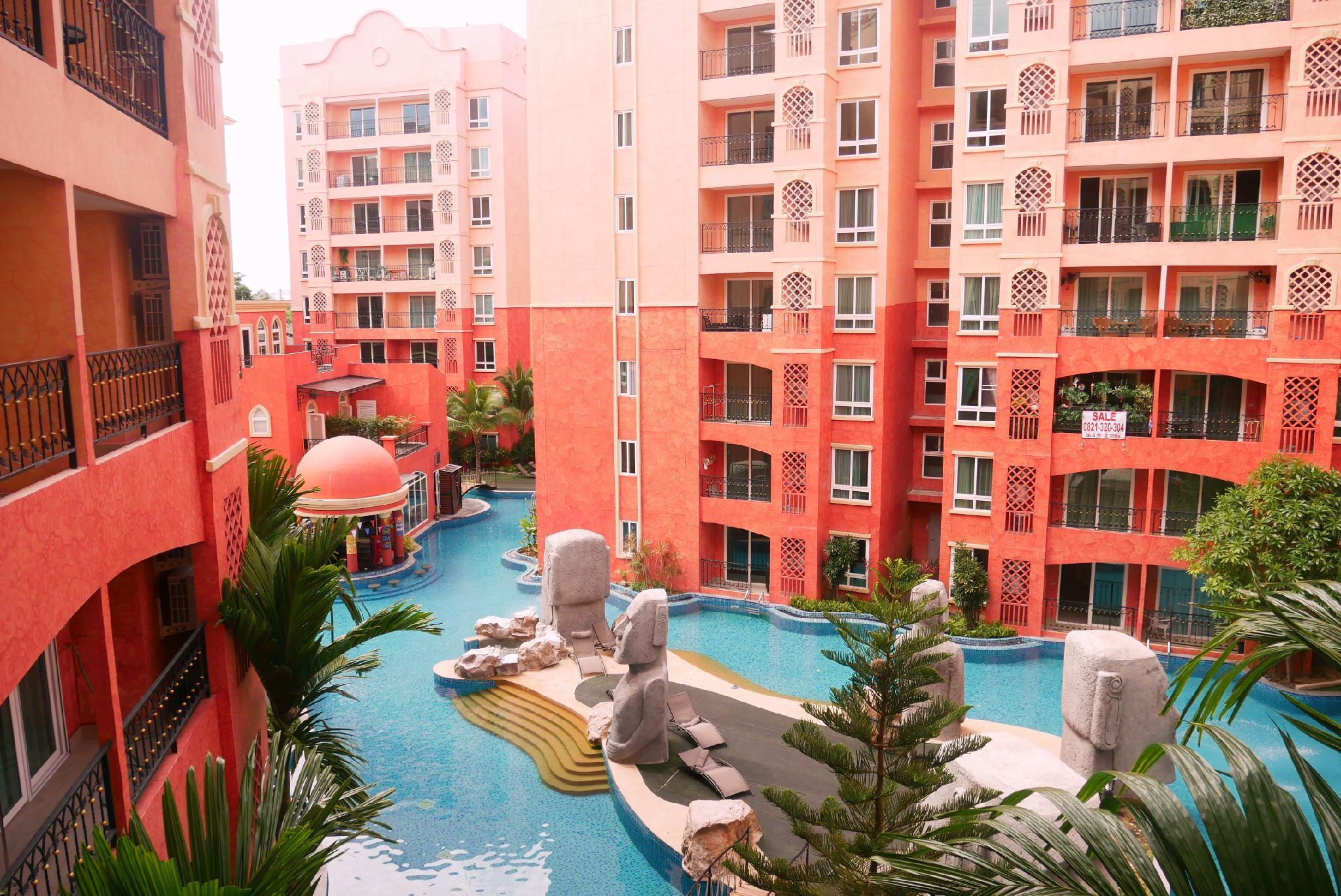 Seven Sea Resort Pattaya  Pool View2