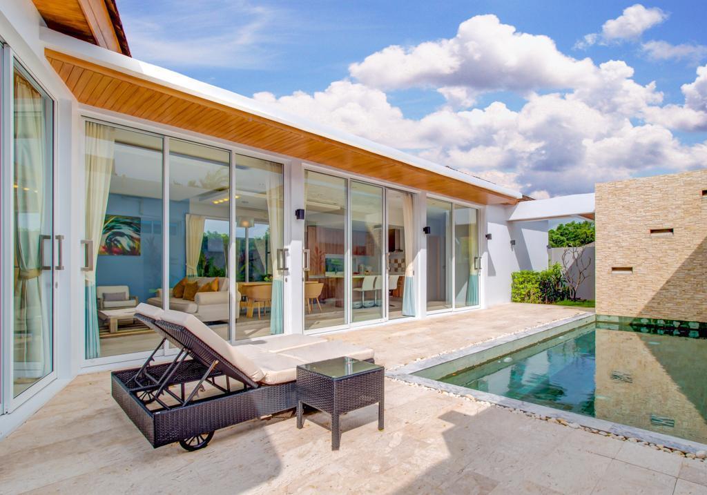 3 BDR  Signature Pool Villa Naiharn วิลลา 3 ห้องนอน 3 ห้องน้ำส่วนตัว ขนาด 185 ตร.ม. – ในหาน