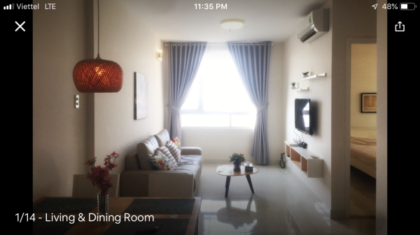 Modern Riverside Apartment  at City Center Ho Chi Minh City