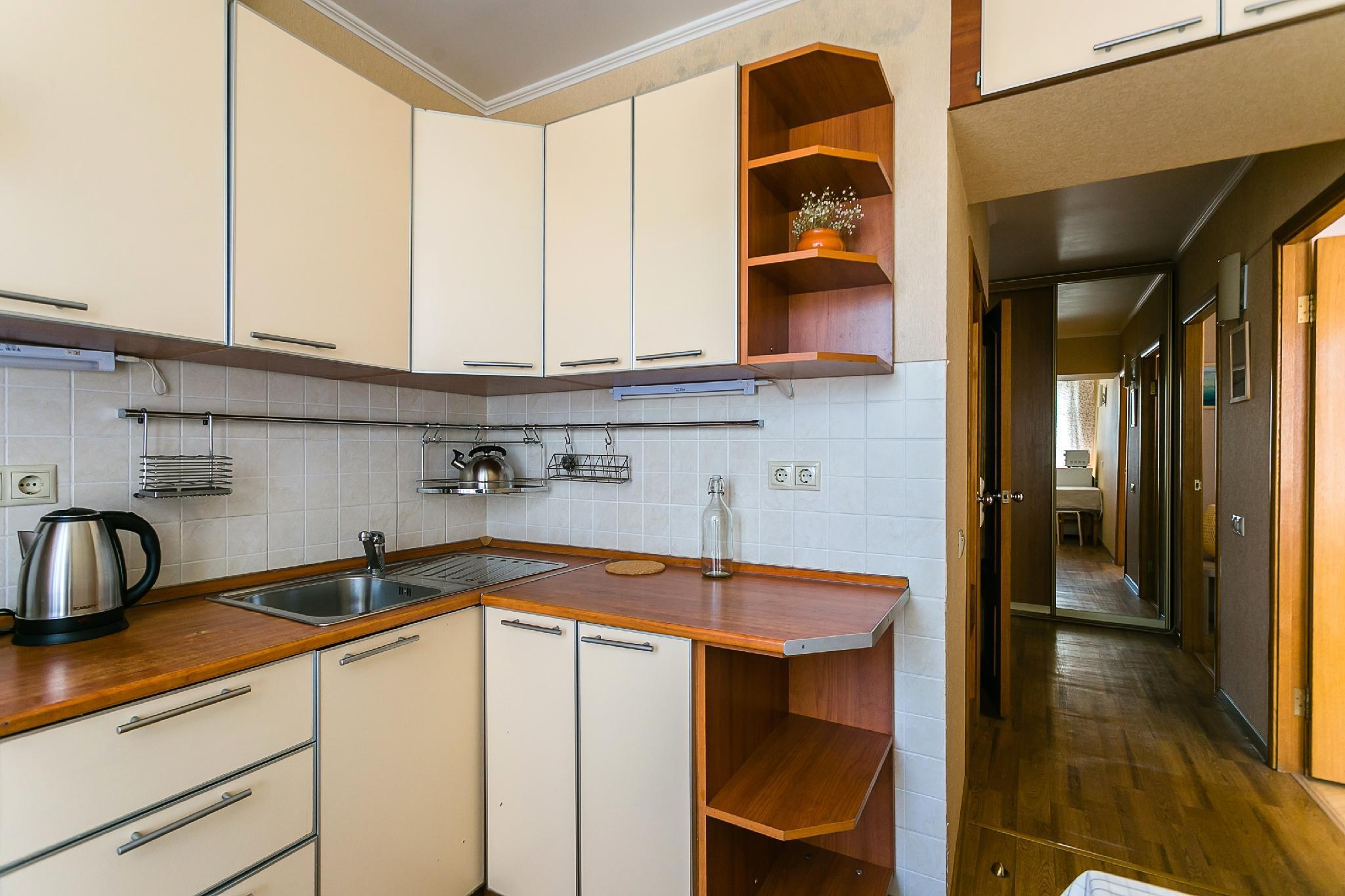 Apartment On Peschanaya 6