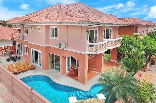 Baan Nomella | 4 Bed Villa Large Pool with Jacuzzi วิลลา 4 ห้องนอน 5 ห้องน้ำส่วนตัว ขนาด 229 ตร.ม. – หาดจอมเทียน