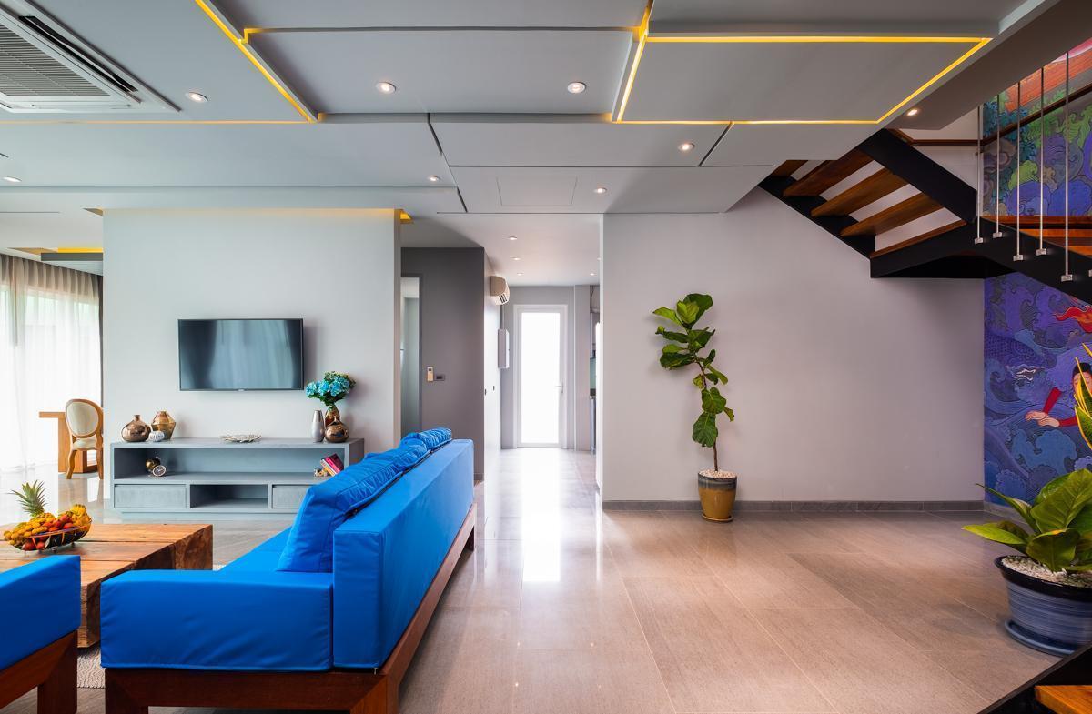 Villa Chuan Chom วิลลา 3 ห้องนอน 4 ห้องน้ำส่วนตัว ขนาด 227 ตร.ม. – กะรน