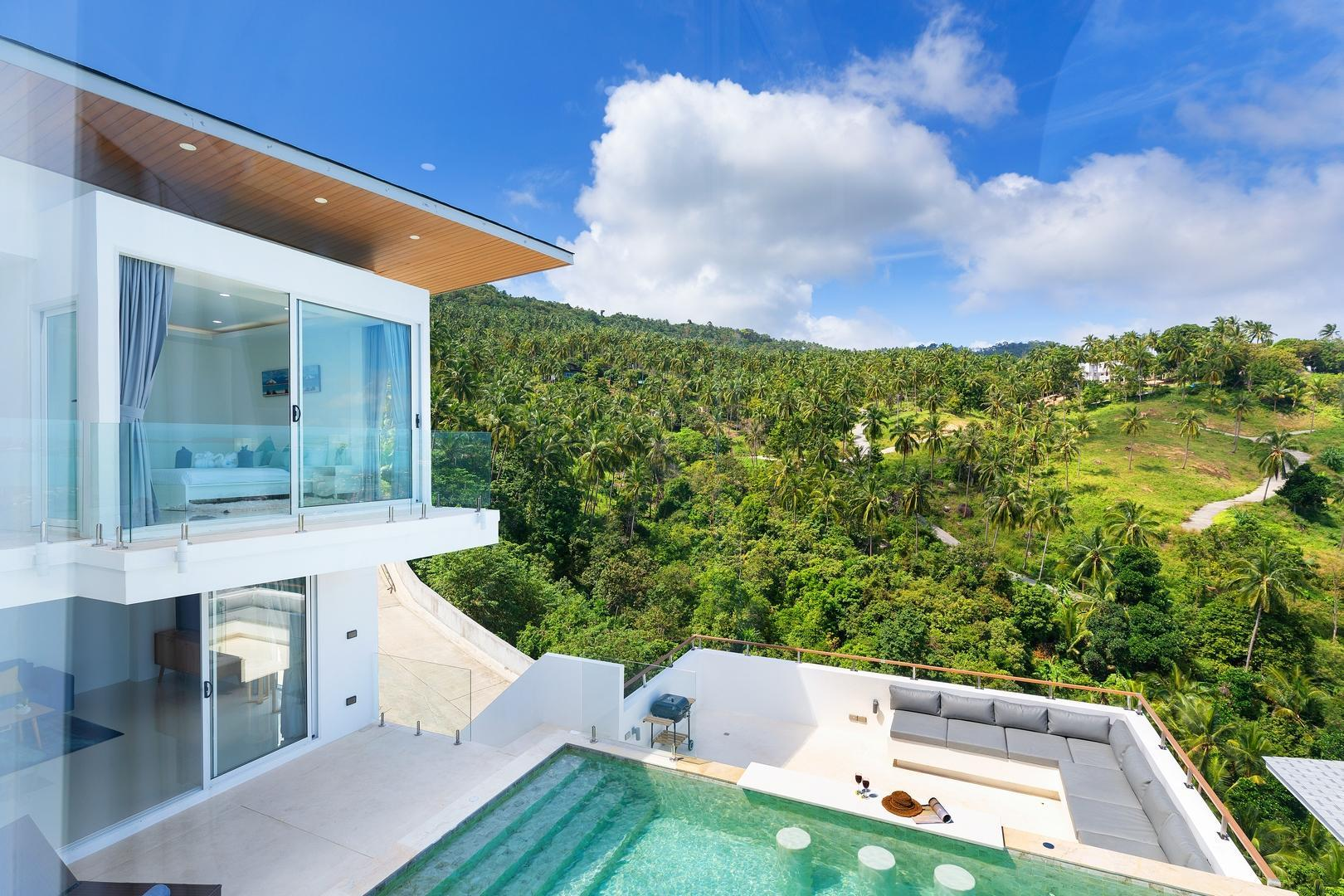4BR Ocean Views And Private Pool Villa High Ark