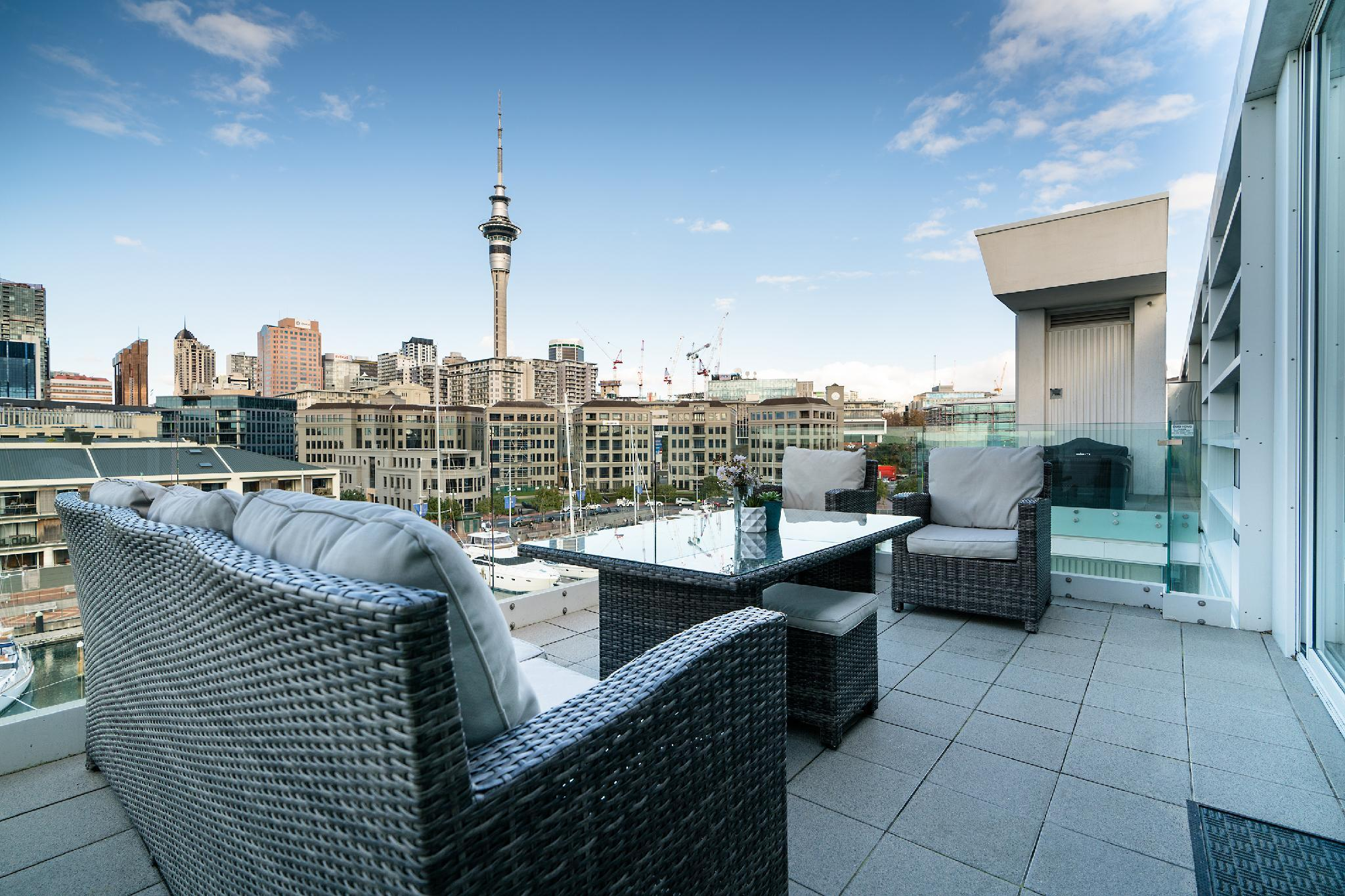 Viaduct Harbour Waterfront Luxury Apt+Pool And Gym