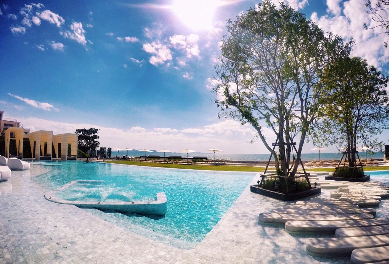 3BR Seaview HighFloor Veranda Pattaya