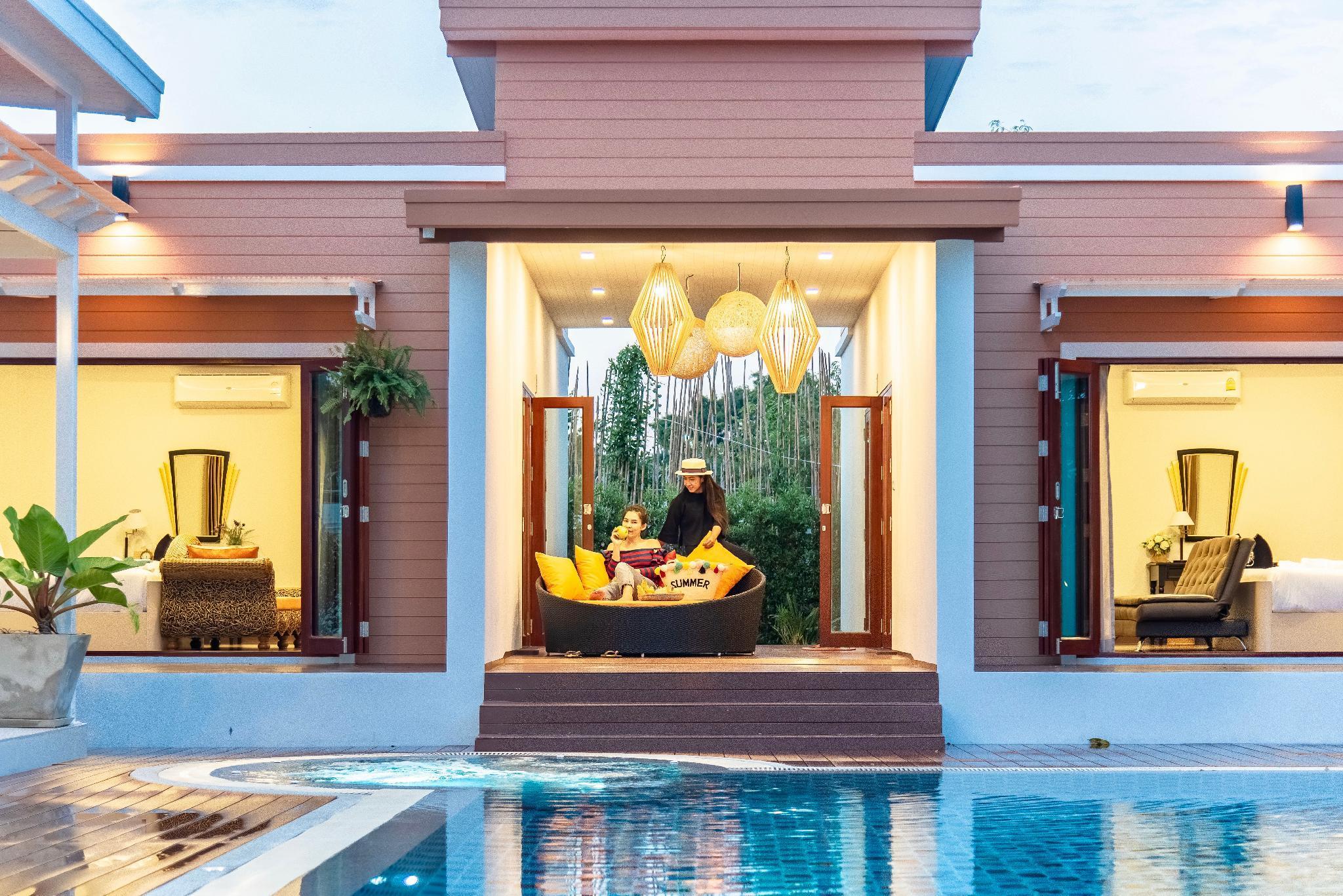 Master Pool Villa  2BR  Apple Tv And Netflix
