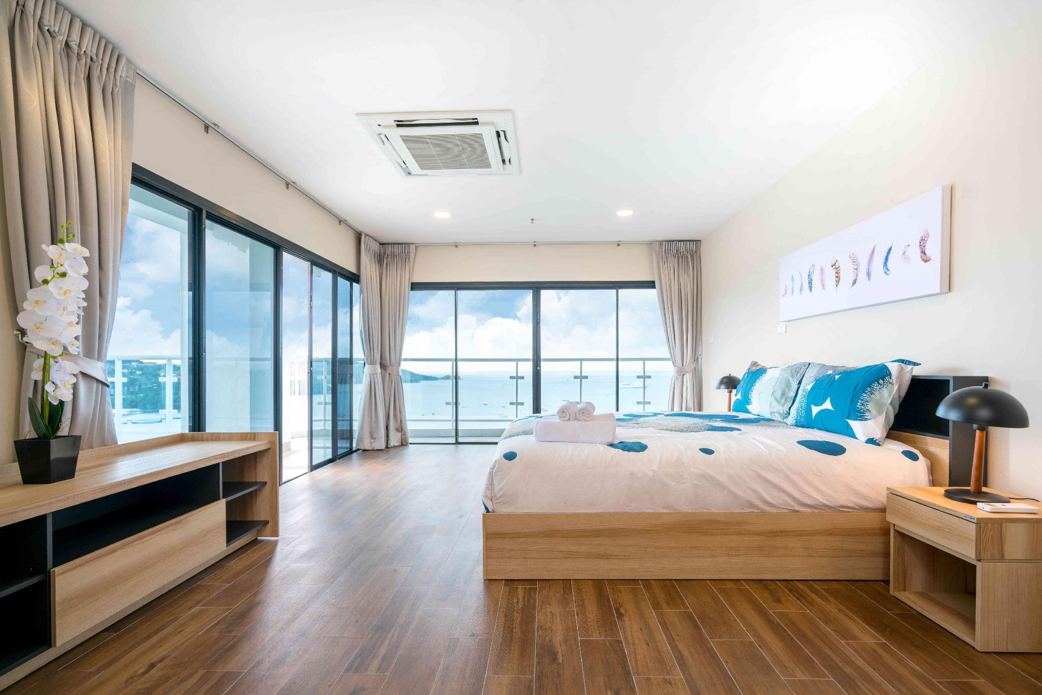 Full Sea View  100m To The Beach  Patong Tower S4b
