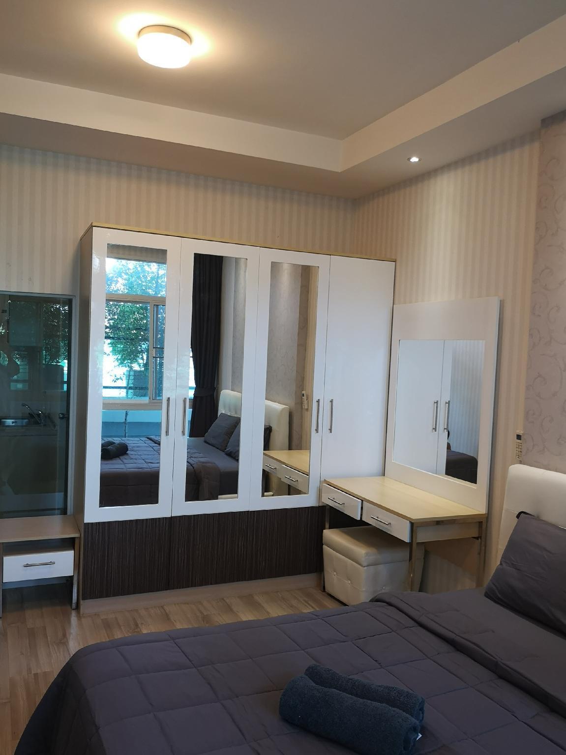 Make you feel at home อพาร์ตเมนต์ 1 ห้องนอน 1 ห้องน้ำส่วนตัว ขนาด 41 ตร.ม. – สันทราย
