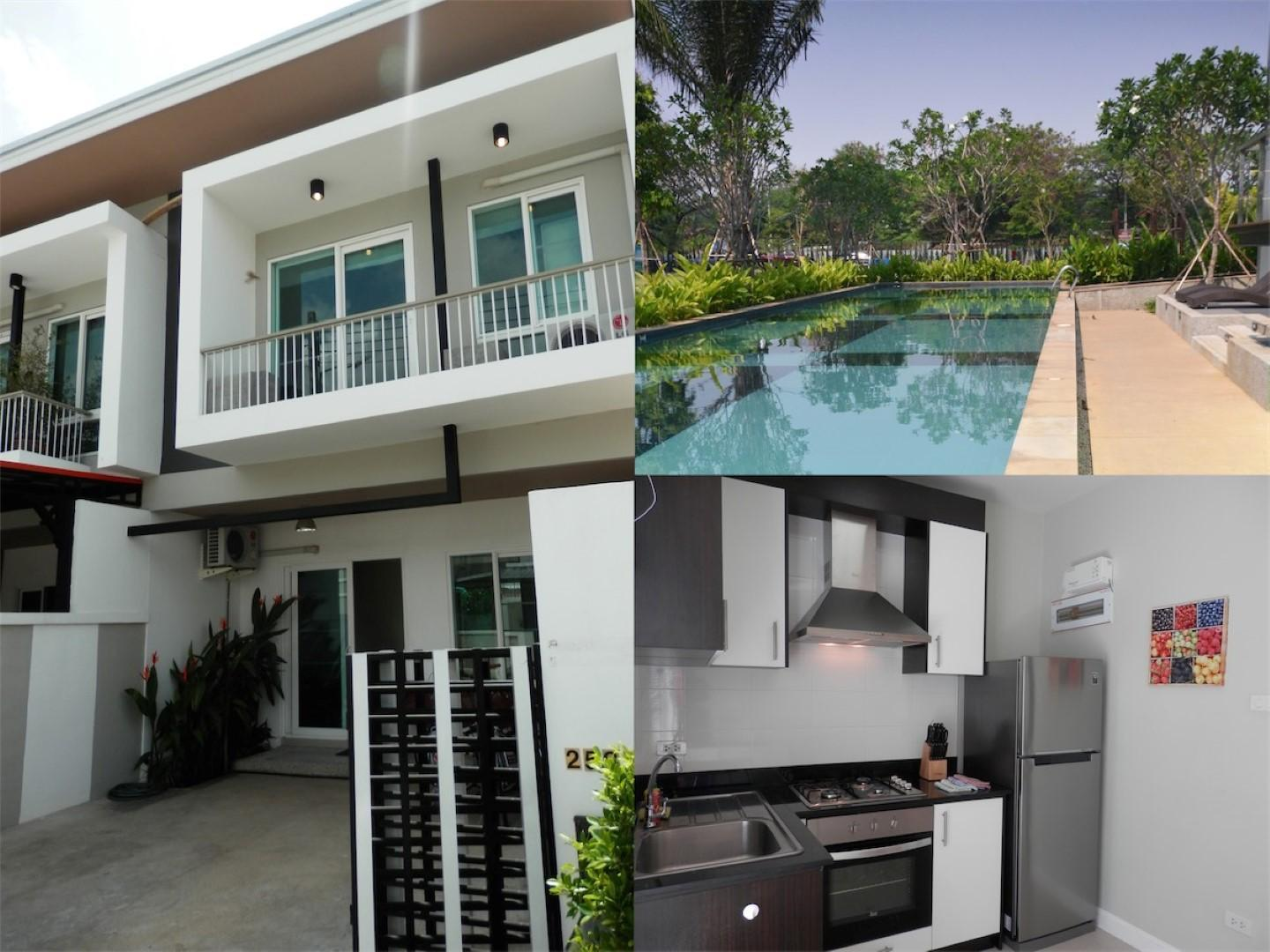 KK69 Lovely 3 Bedroom Townhouse With Free Bicycle