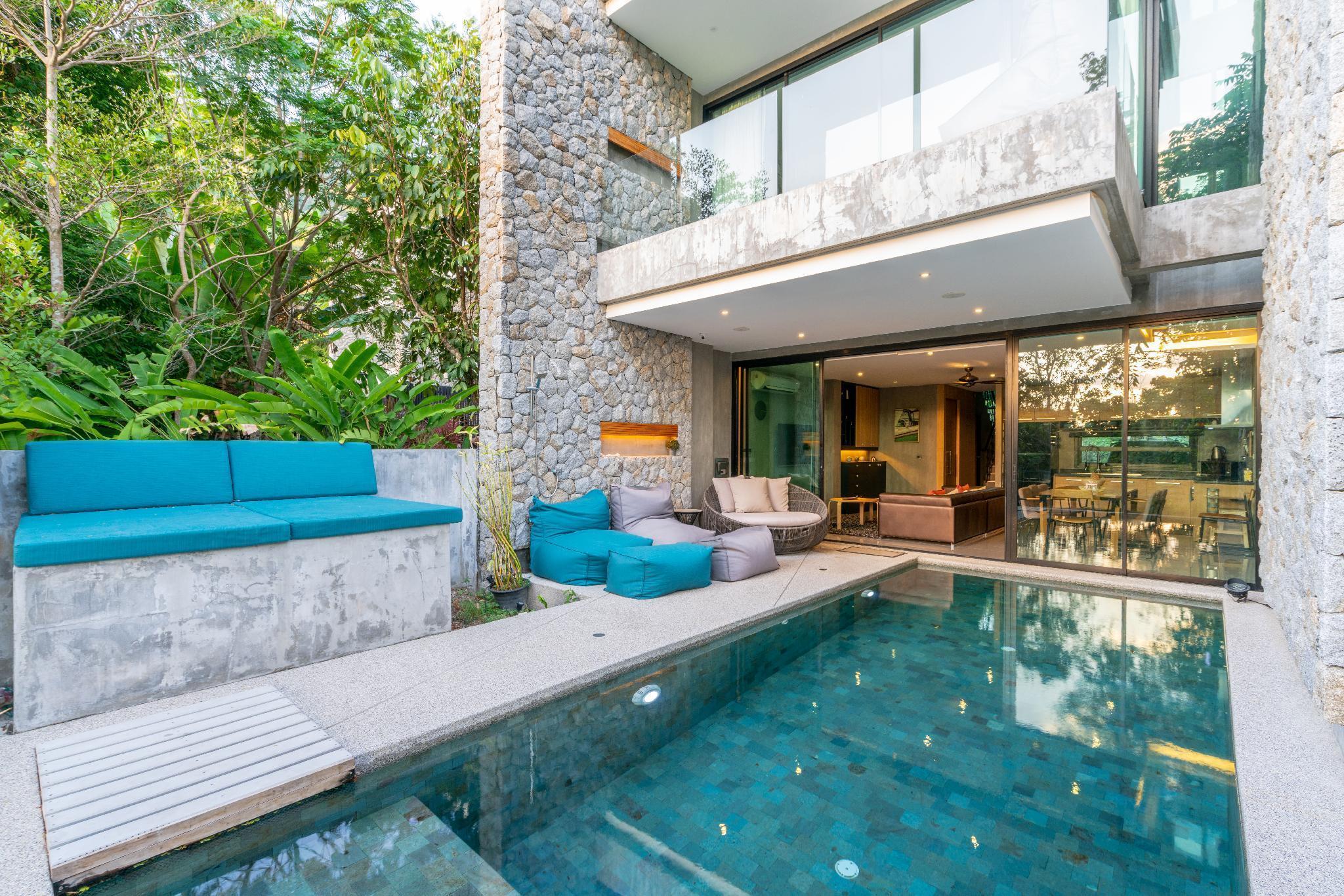 Luxury 4 Bedroom Villa Mangosteen วิลลา 4 ห้องนอน 3 ห้องน้ำส่วนตัว ขนาด 180 ตร.ม. – กมลา
