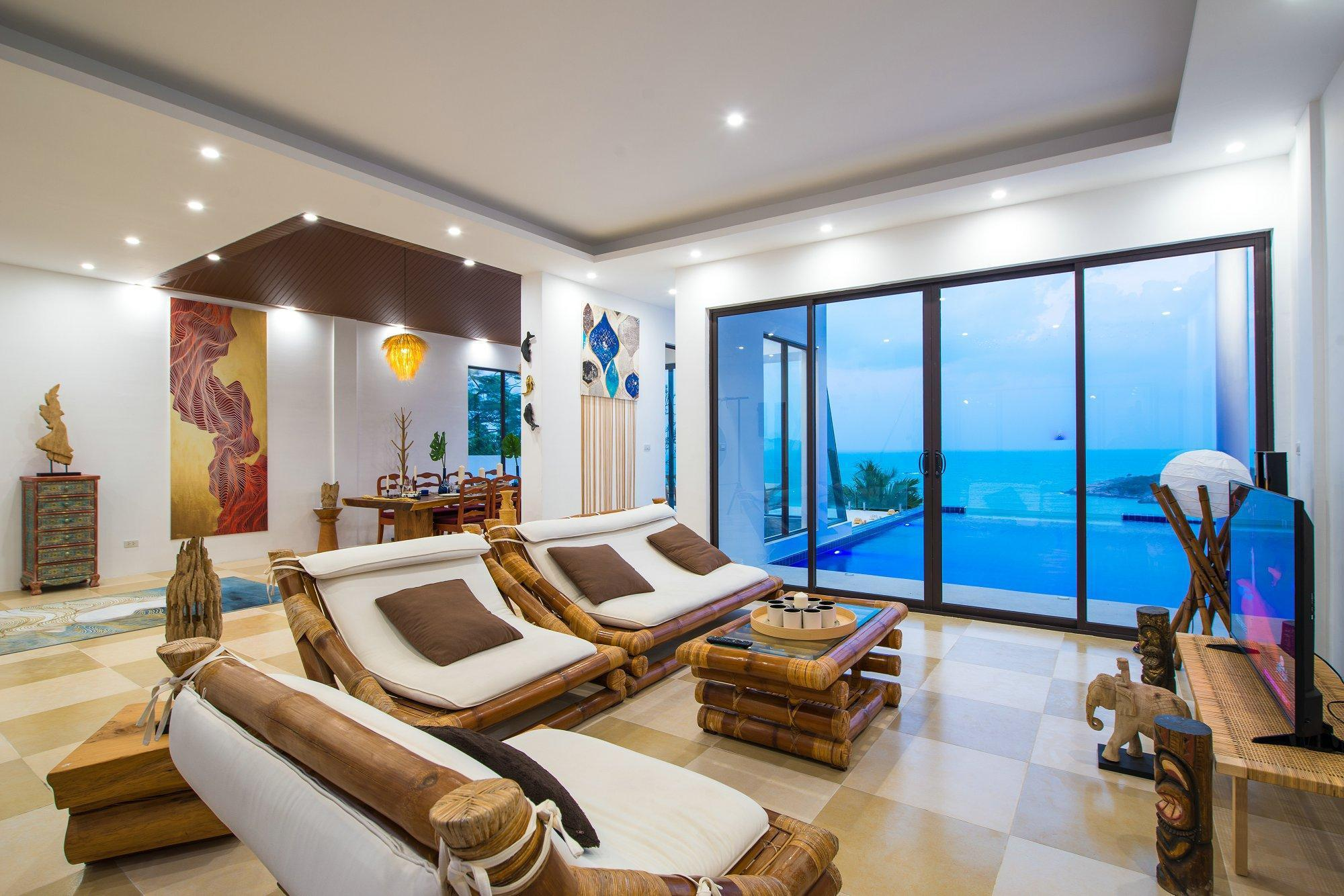 Peaceful Seaview Private Pool Villa in ChengMoeng วิลลา 6 ห้องนอน 7 ห้องน้ำส่วนตัว ขนาด 750 ตร.ม. – เชิงมน