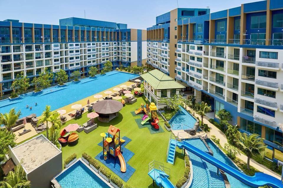 Laguna beach resort2 Pattaya อพาร์ตเมนต์ 1 ห้องนอน 1 ห้องน้ำส่วนตัว ขนาด 23 ตร.ม. – หาดจอมเทียน