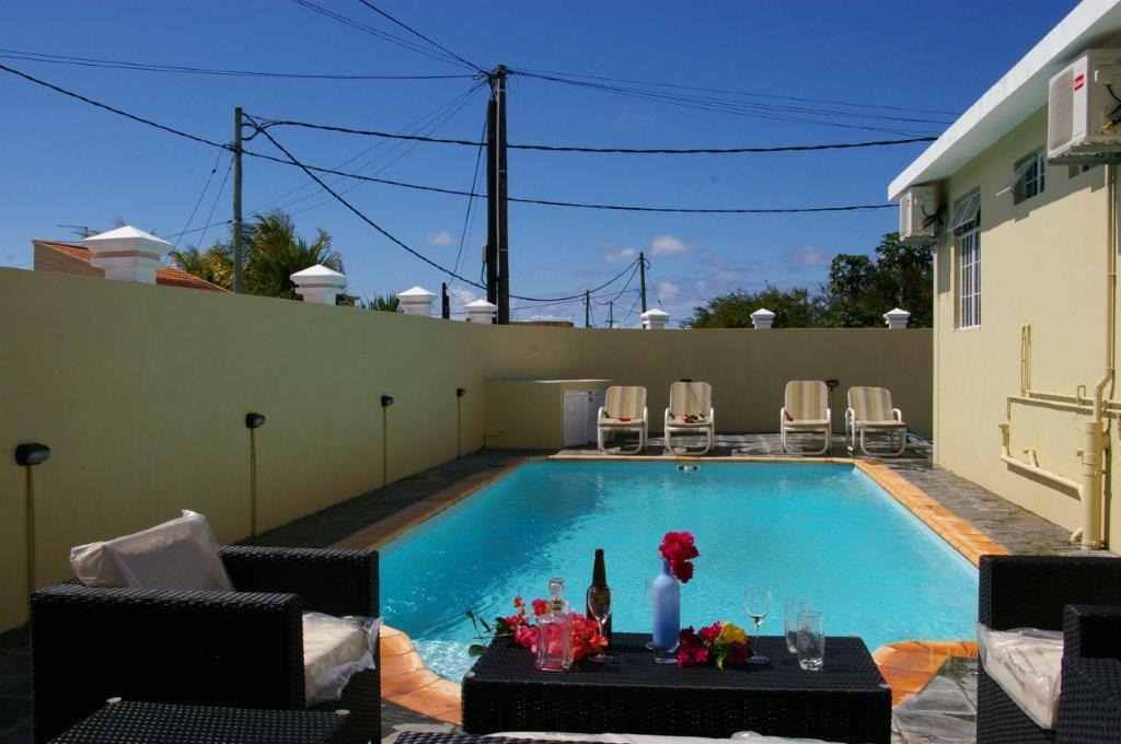 Villa Moulin Rouge With A Pool In Grand Baie
