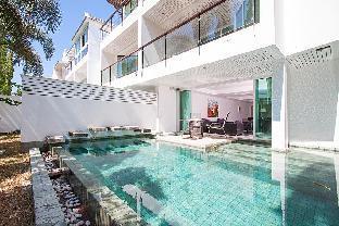 [カトゥー]一軒家(260m2)| 4ベッドルーム/2バスルーム 10 person golf view, pool villa, 7kms to Patong