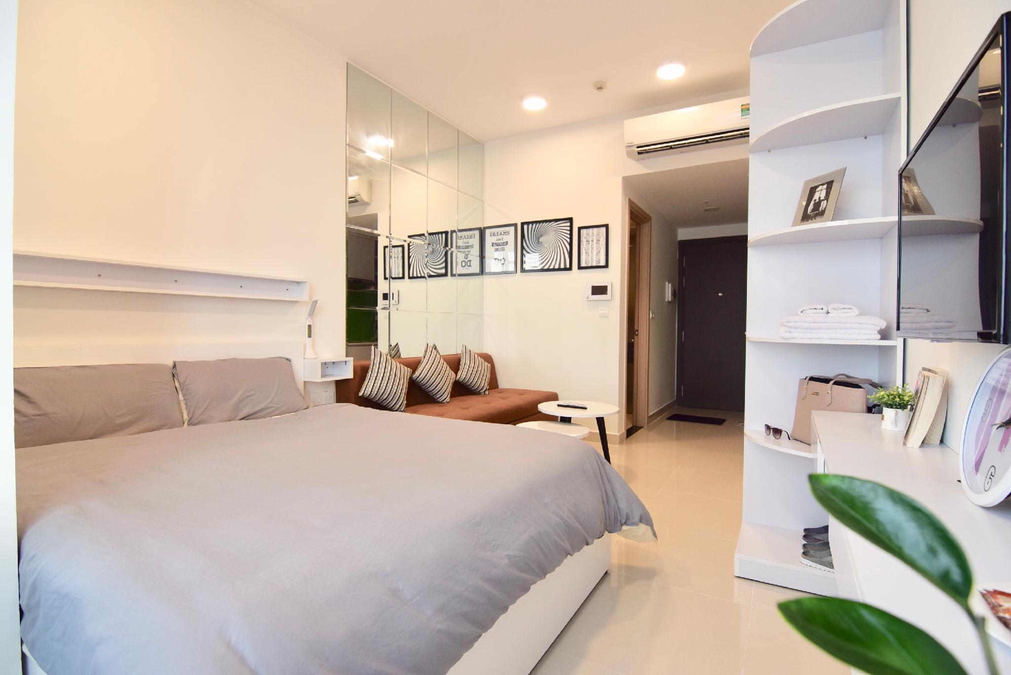 Chau Apartment Ben Thanh FREE Pool Gym Netflix
