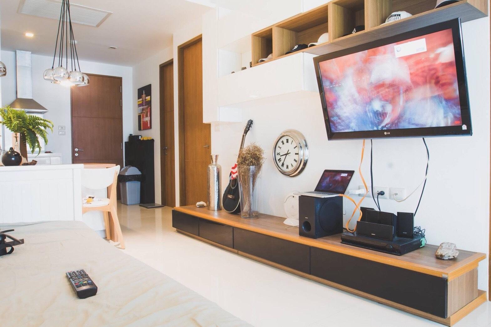 The Sanctuary Wongamat Condominium อพาร์ตเมนต์ 2 ห้องนอน 2 ห้องน้ำส่วนตัว ขนาด 61 ตร.ม. – นาเกลือ/บางละมุง