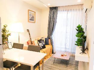[パタヤ中心地]アパートメント(35m2)| 1ベッドルーム/1バスルーム [hiii]MidSummerNote|Pool|CentralFestival-UTP036