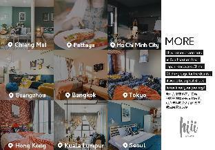 [パタヤ中心地]アパートメント(35m2)| 1ベッドルーム/1バスルーム [hiii]Le Cerf|RooftopPool|CentralFestival-UTP039