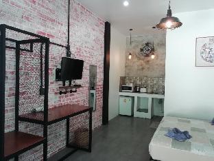 [市内中心部]スタジオ アパートメント(24 m2)/1バスルーム Loft style studio 500m from Saikaew beach